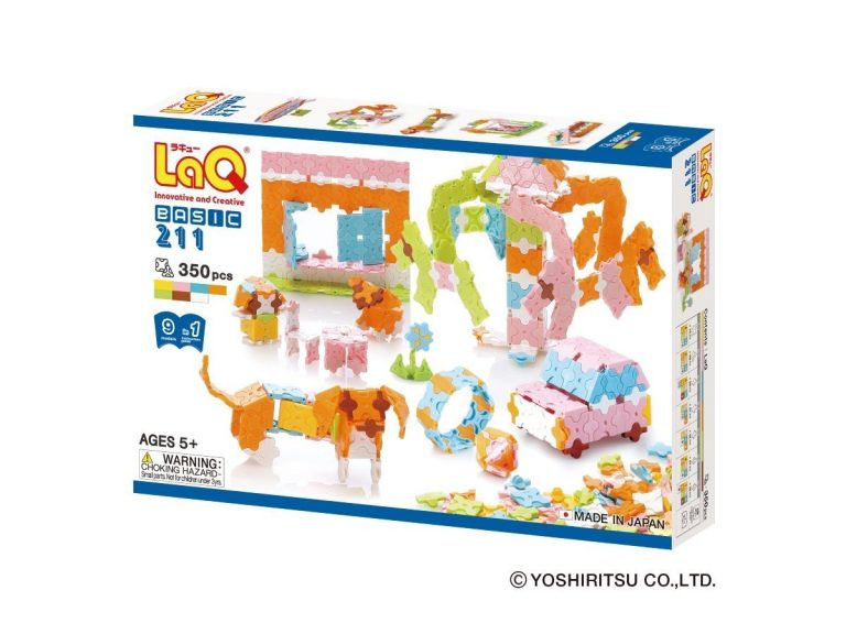 LaQ Basic 211 Pastel