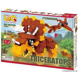LaQ Dinosaur World Triceratops & Pteranodon