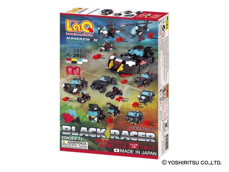 LaQ Hamacron Constructor Black Racer