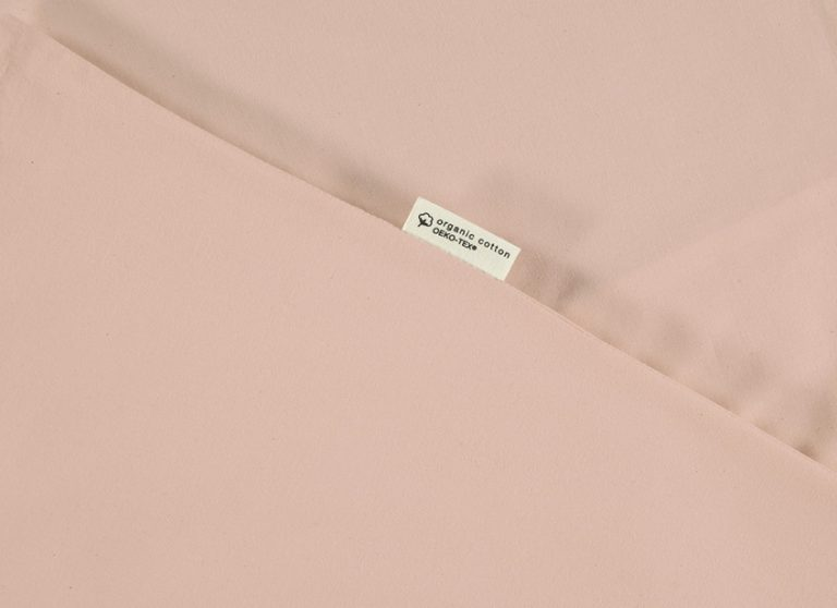 Nobodinoz Alhambra Crib Fitted Sheet Bloom Pink