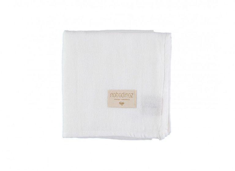 Nobodinoz Baby Love Swaddle Box Set of 3 White