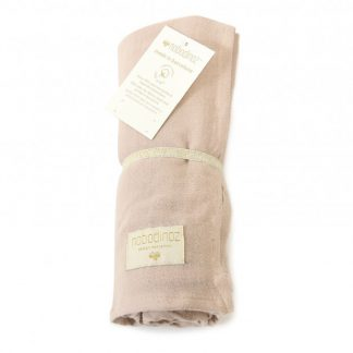 Nobodinoz Butterfly Swaddle Bloom Pink