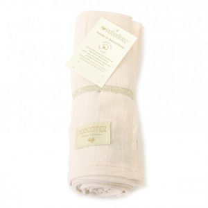 Nobodinoz Butterfly Swaddle Dream Pink