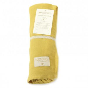 Nobodinoz Butterfly Swaddle Farniente Yellow