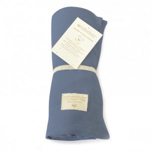 Nobodinoz Butterfly Swaddle Night Blue