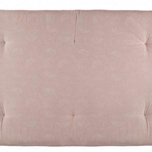 Nobodinoz Eden Futon White Bubble/Misty Pink