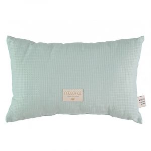 Nobodinoz Laurel Honeycomb Cushion Aqua
