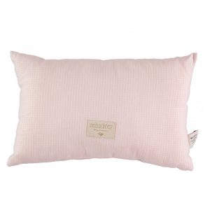 Nobodinoz Laurel Honeycomb Cushion Dream Pink