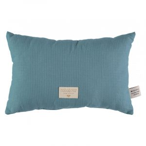 Nobodinoz Laurel Honeycomb Cushion Magic Green