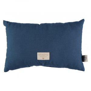Nobodinoz Laurel Honeycomb Cushion Night Blue