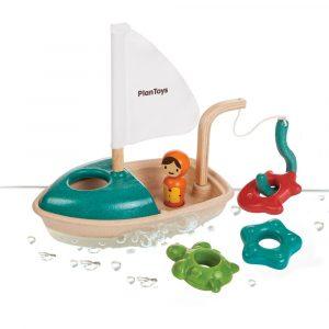 Plan Toys Activity Fishing Boat