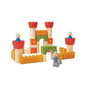 Plan Toys Castle Blocks 35 Pcs