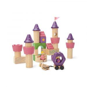 Plan Toys Fairy Tale Blocks 35 Pcs