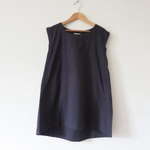 Kin Sleeveless Pod Dress Ink