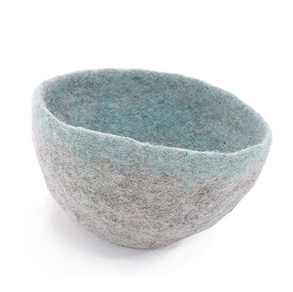 Muskhane Bicolour Bowl Jade/Light Stone