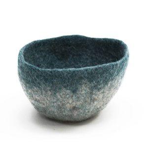 Muskhane Bicolour Bowl Light Stone/Duck Blue