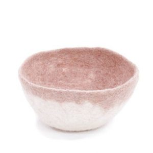 Muskhane Bicolour Bowl Natural/Quartz Pink
