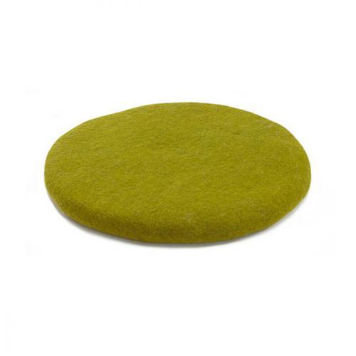 Muskhane Chakati Round Cushion Anis