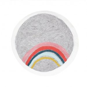 Muskhane Indreni Rug Rainbow Natural/Light Stone