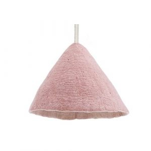Muskhane Lampshade Small Quartz Pink/Natural