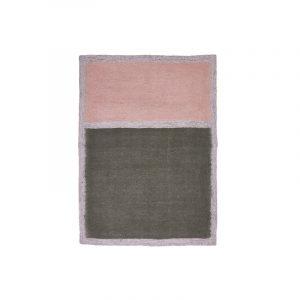 Muskhane Mustang Bicolour Rug Mineral Grey/Quartz Pink