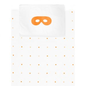 Beau Loves Cot Cover Set Neon Dots and Crosses