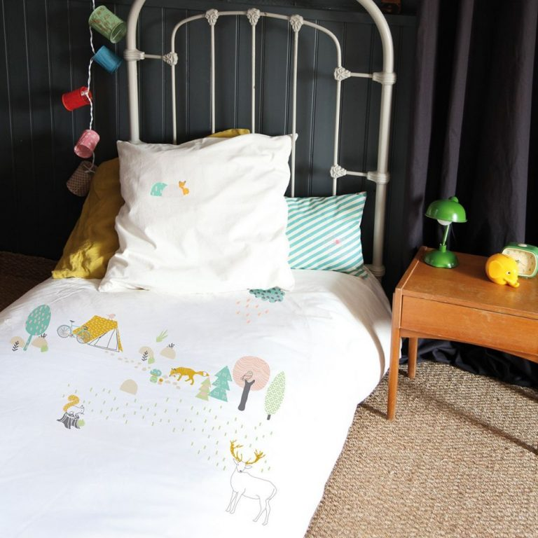 Mimi'lou Forest Cot Cover Set
