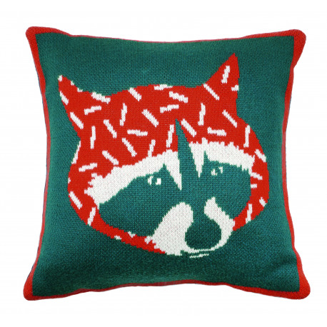 Mimi'lou Racoon Cushion