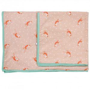 Mimi'lou Roses Cot Cover Set