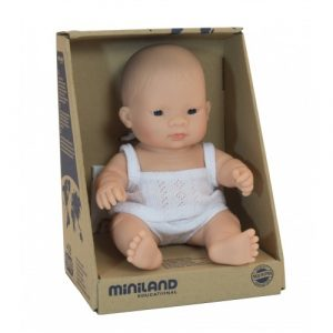 Miniland Anatomically Correct Baby Doll Asian Boy 21cm