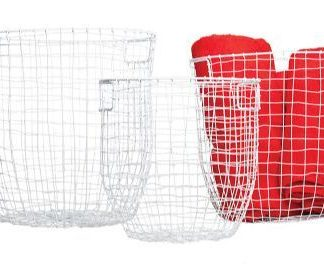 White Wire Basket