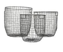 Zinc Wire Basket