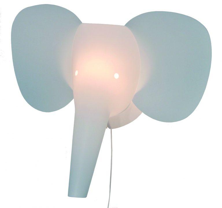 Zzzoolight Elephant Wall Light