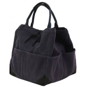 Travaux En Cours Tote Bag Medium Navy Storm