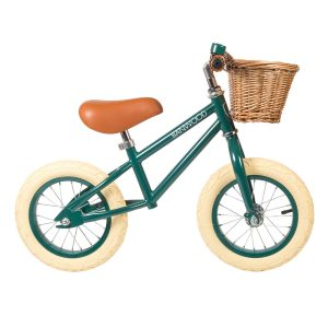 Banwood Balance Bike First Go Dark Green