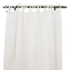 Numero 74 Flat Curtain White