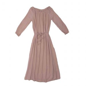 Numero 74 Nina Dress Long Mum Dusty Pink