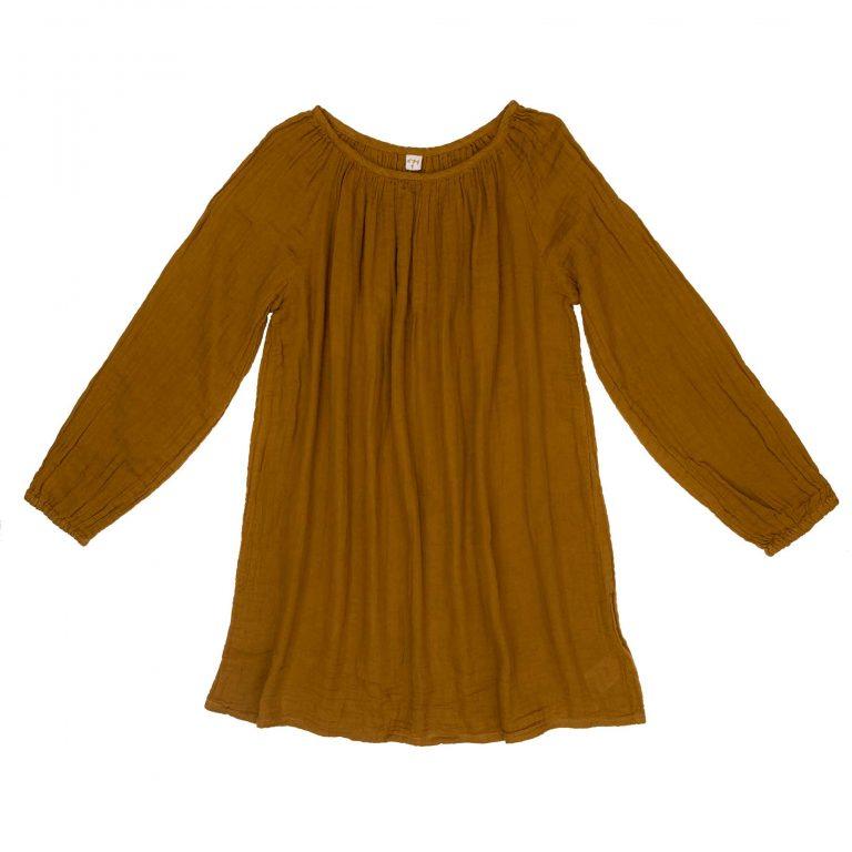 Numero 74 Nina Dress Short Mum Gold