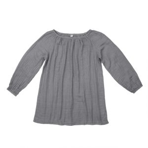 Numero 74 Nina Dress Short Mum Stone Grey