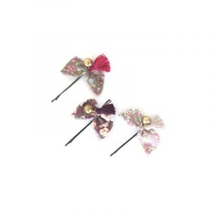Numero 74 Mix Pink Hair Clip
