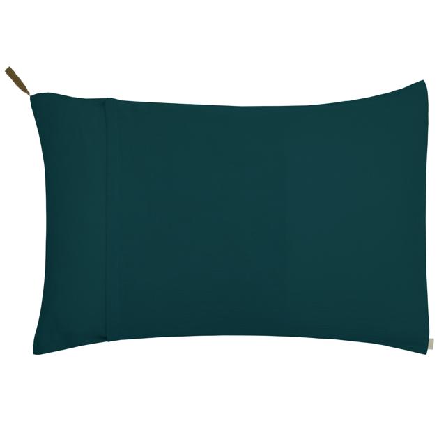 Numero 74 Pillow Case Standard Teal Blue