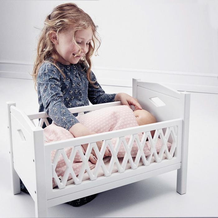 Cam Cam Copenhagen Doll's Bed Mattress Blossom Pink
