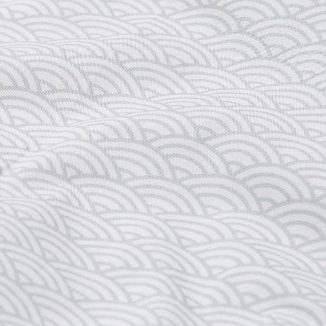 Cam Cam Copenhagen Doll's Bedding Grey Wave
