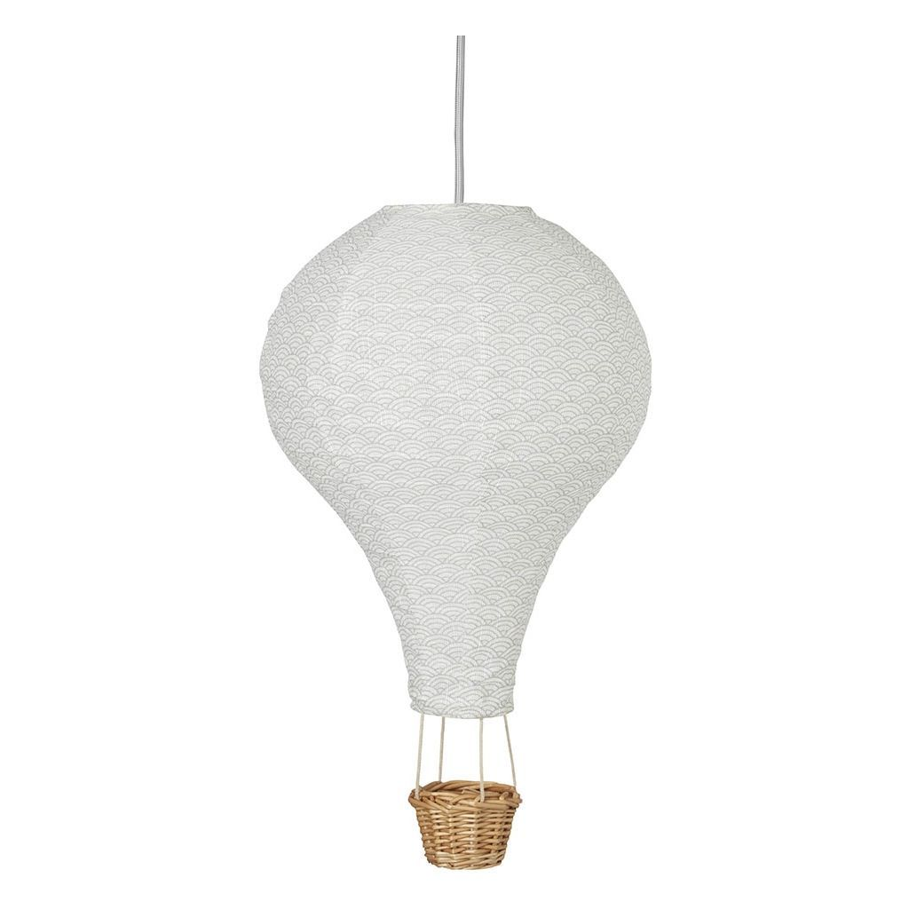 Cam Cam Copenhagen Hot Air Balloon Lampshade Grey Wave