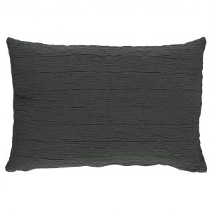 Camomile London Diamond Pillow Case Charcoal