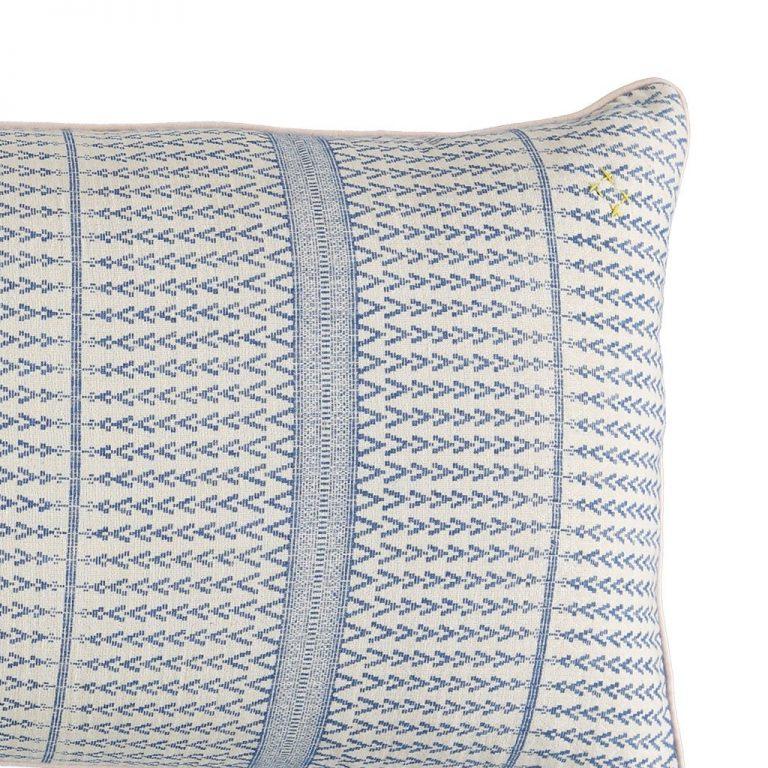 Camomile London Jaquard Triangle Cushion Cover