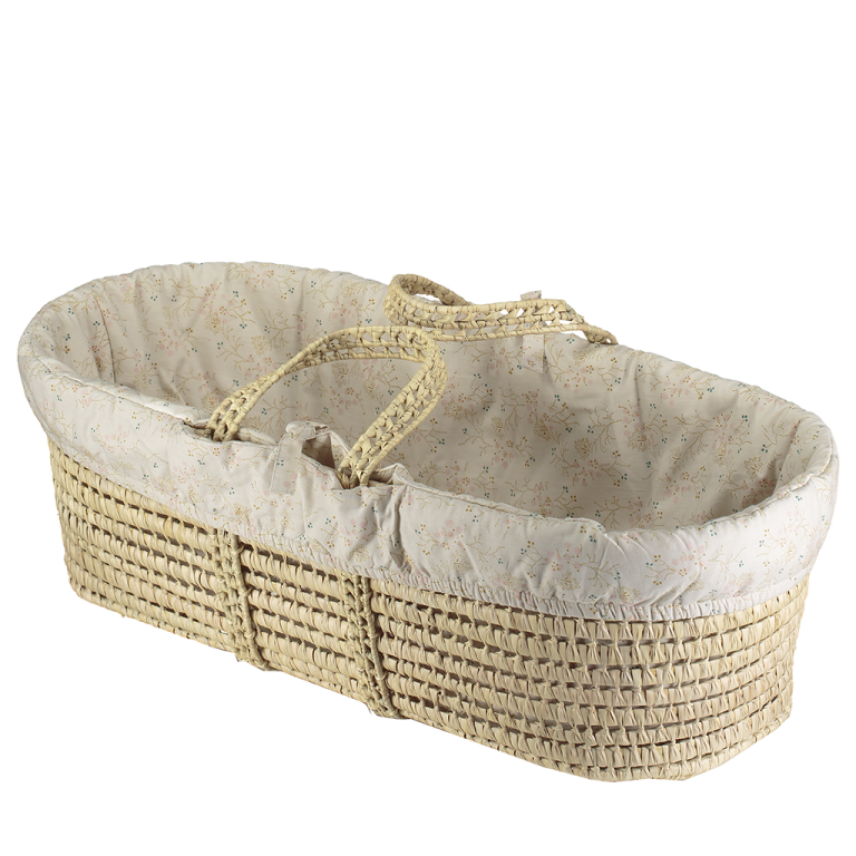Camomile London Moses Basket With 4 Piece Set Minako Golden
