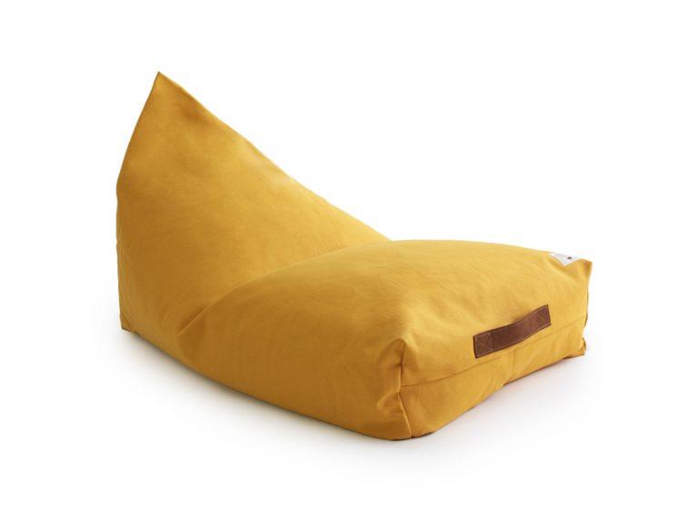 Nobodinoz Oasis Bean Bag Farniente Yellow