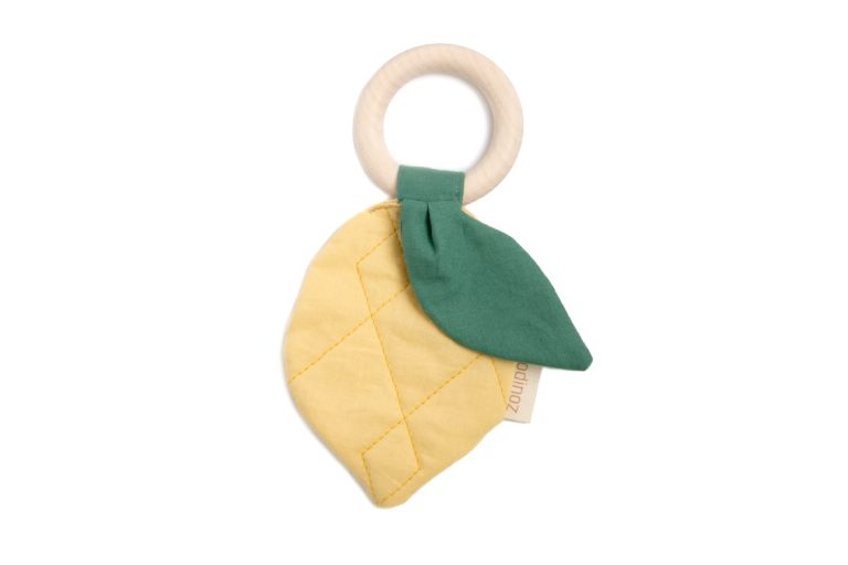 Nobodinoz Lemon Teether Ring