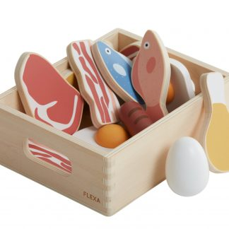 Flexa Fish & Meat Play Set